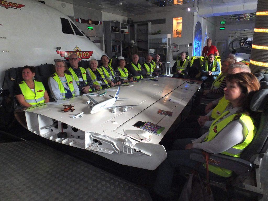 Пилотное мастерство осваивают пенсионеры в Свиблове
