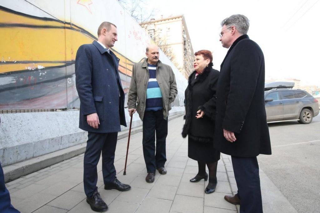 На проспекте Мира обновят граффити Победы