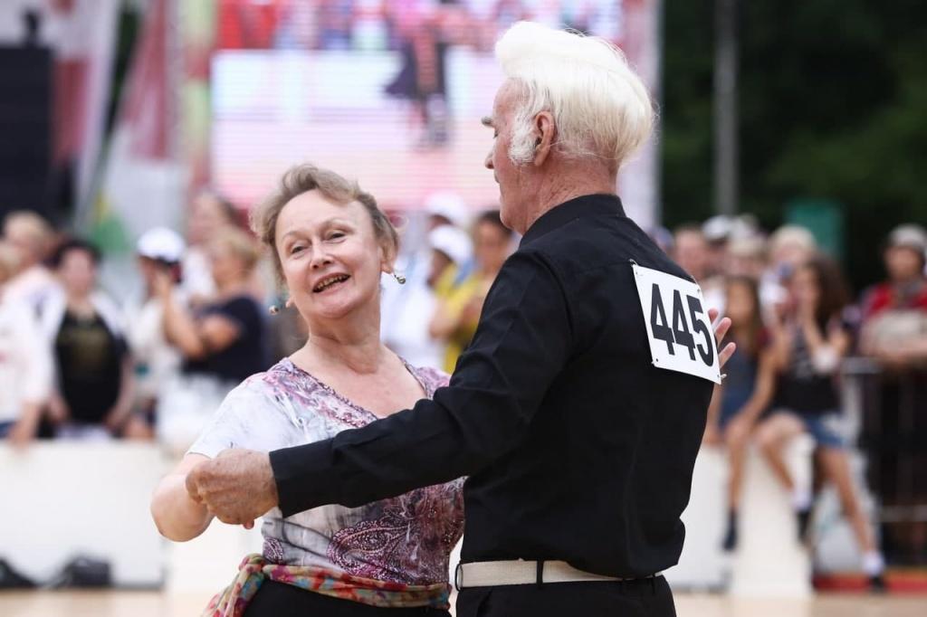 Пенсионеры из Свиблова осваивают танцы народов мира
