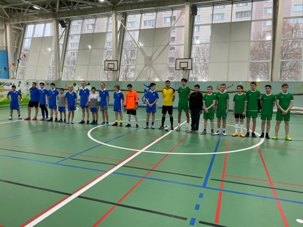 Сборная Свиблова по футболу вышли в плей-офф окружных соревнований